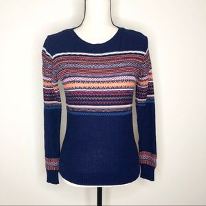 Pins & Needles Navy Blue Striped Sweater